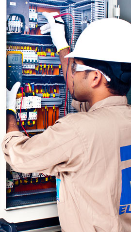Marine switchboard testing and inspection