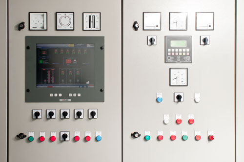 Marine switchboard user interface