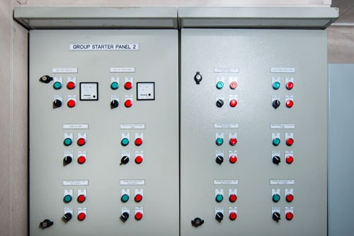Marine switchboard group starter panel
