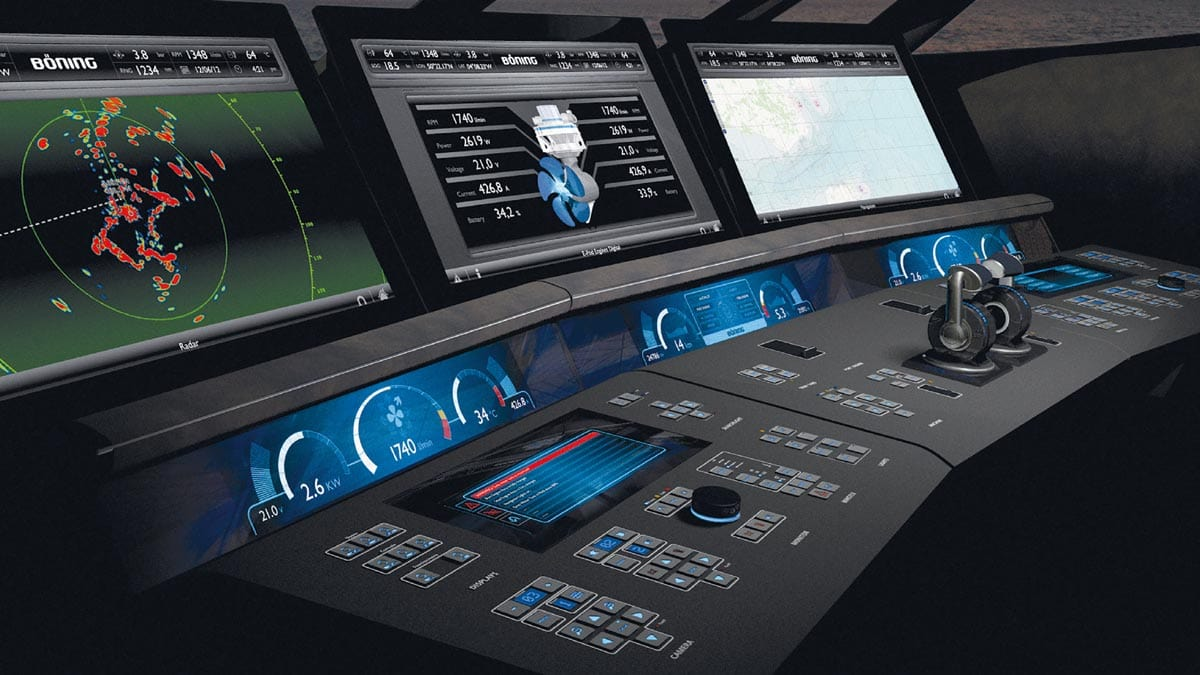 Marine automation and control system