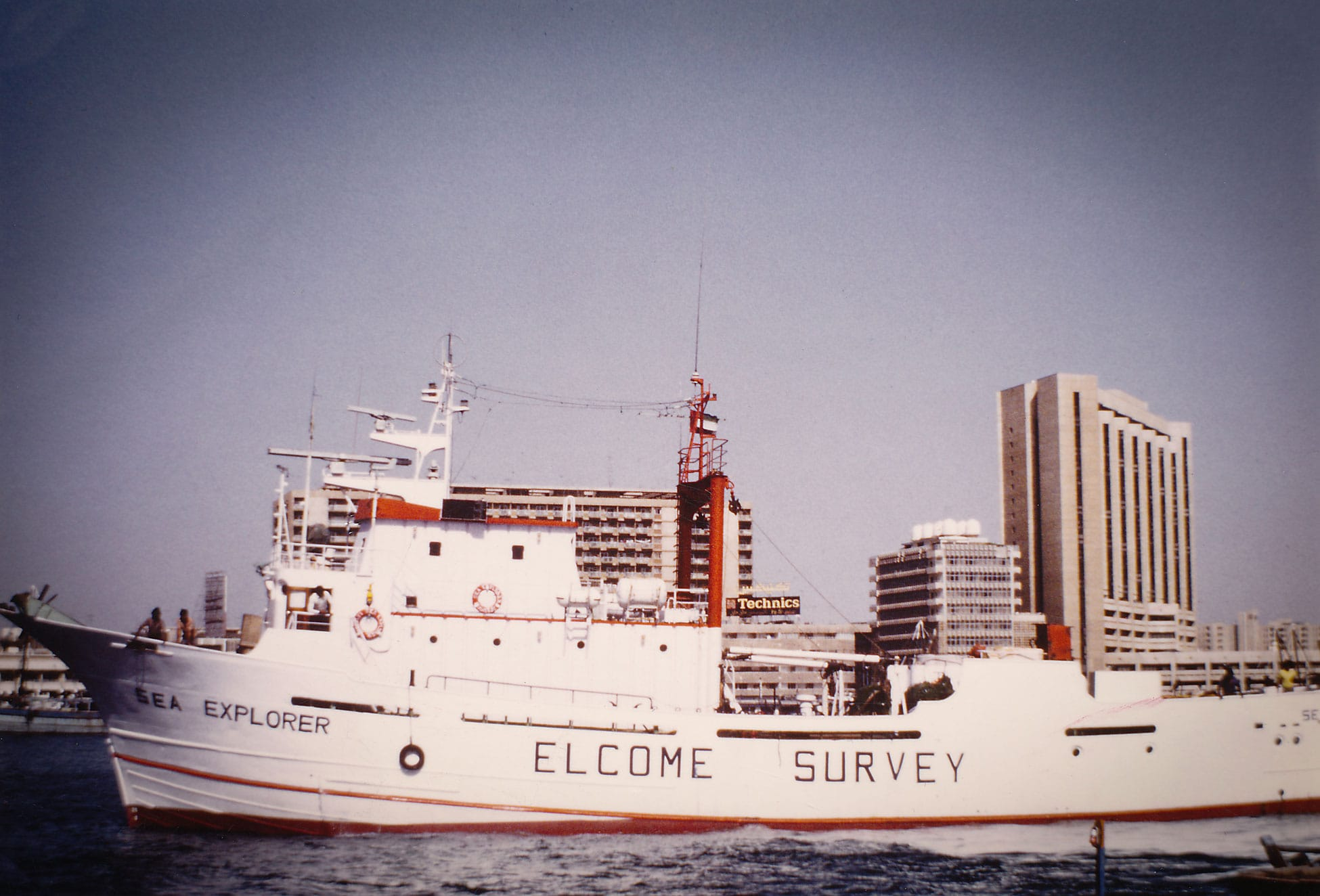 Elcome Survey Ship Sea Explorer