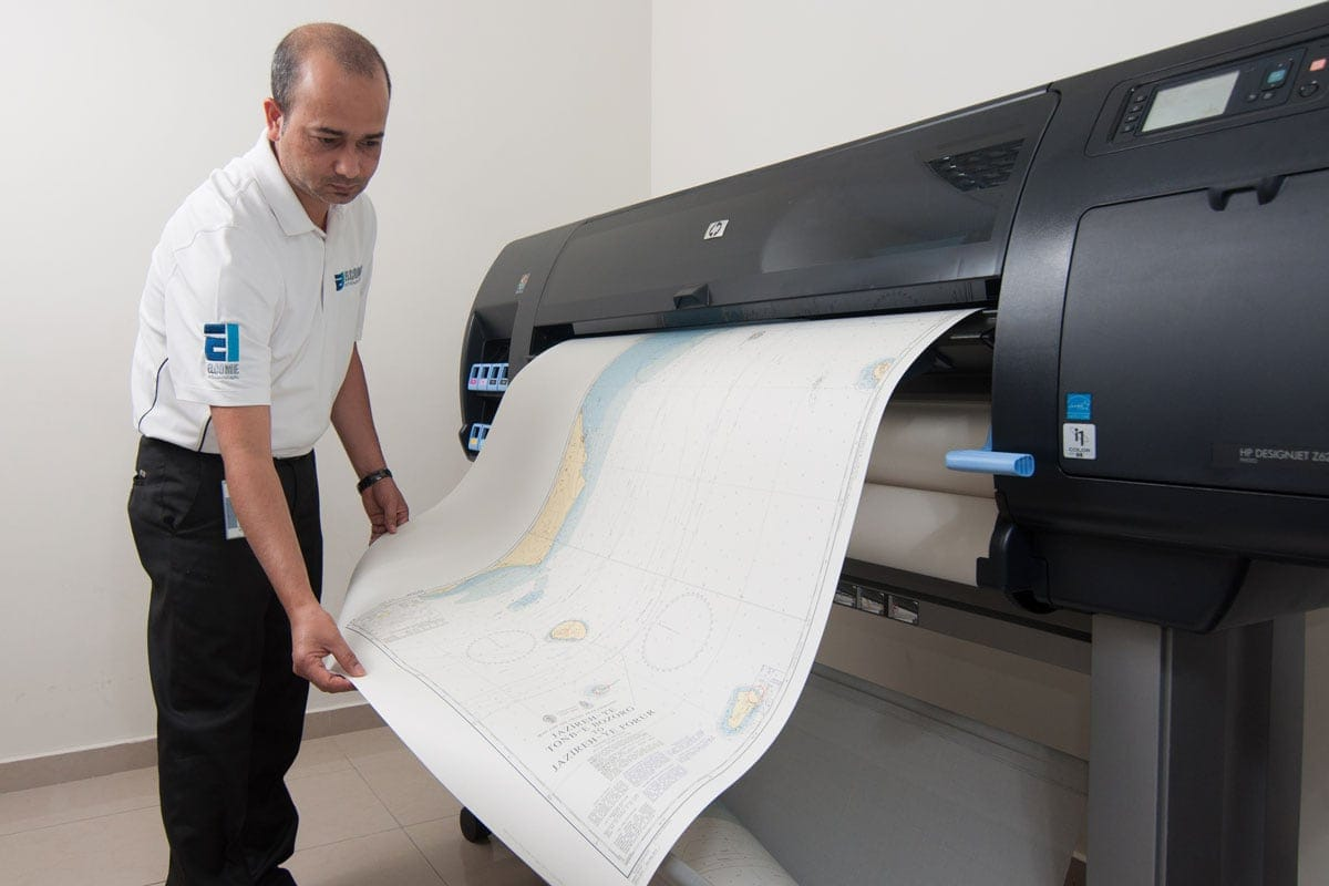 UKHO Admiralty print on demand