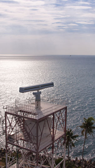 Land based coastal surveillance radar