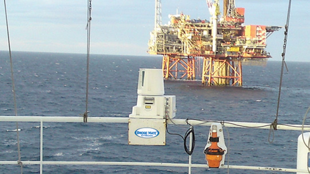 Bridge Mate CyScan System on Rig