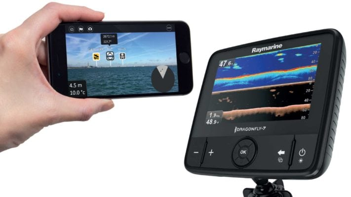 ELCOME Raymarine Dragonfly 7 PRO Fishfinder Augmented Reality