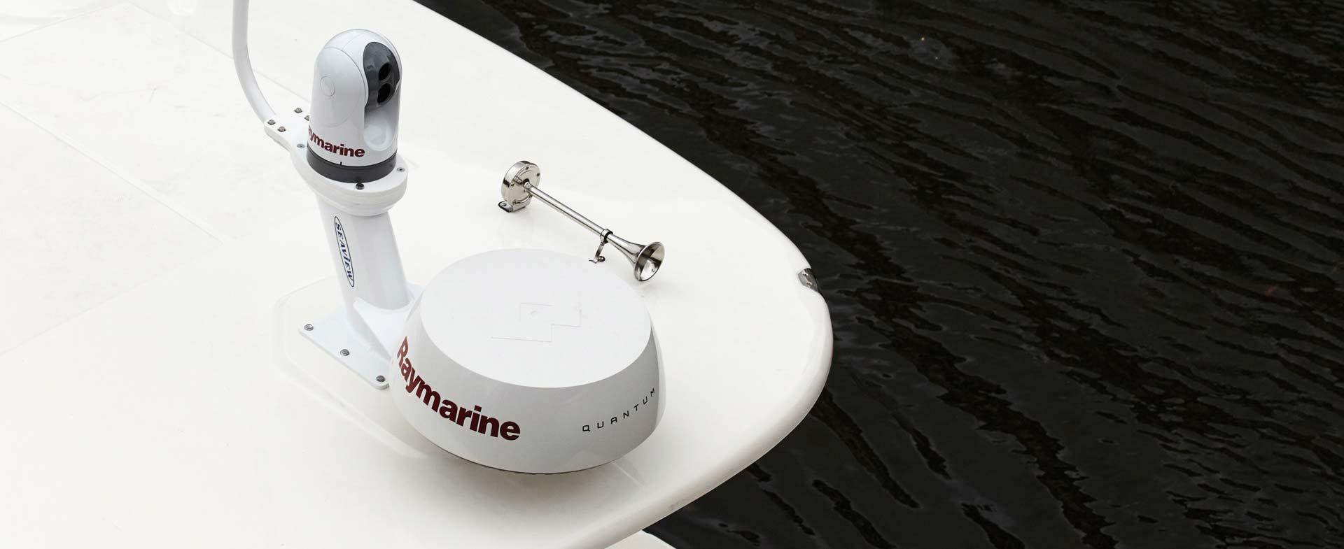 ELCOME Raymarine Quantum Wireless CHIRP Radar Flir Thermal Camera