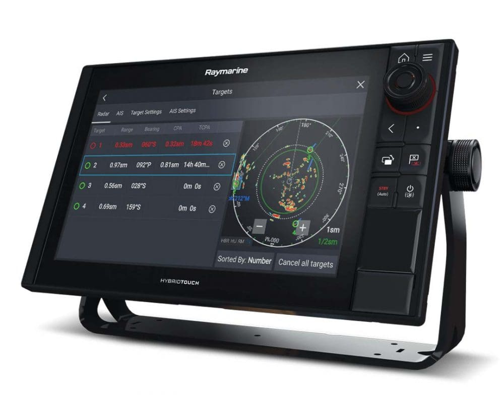 ELCOME Raymarine Quantum2 CHIRP Radar Doppler Automatic Target Aquisition and Tracking