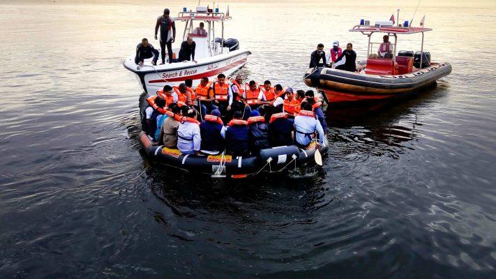 ELCOME RFD Safety Marine Liferaft
