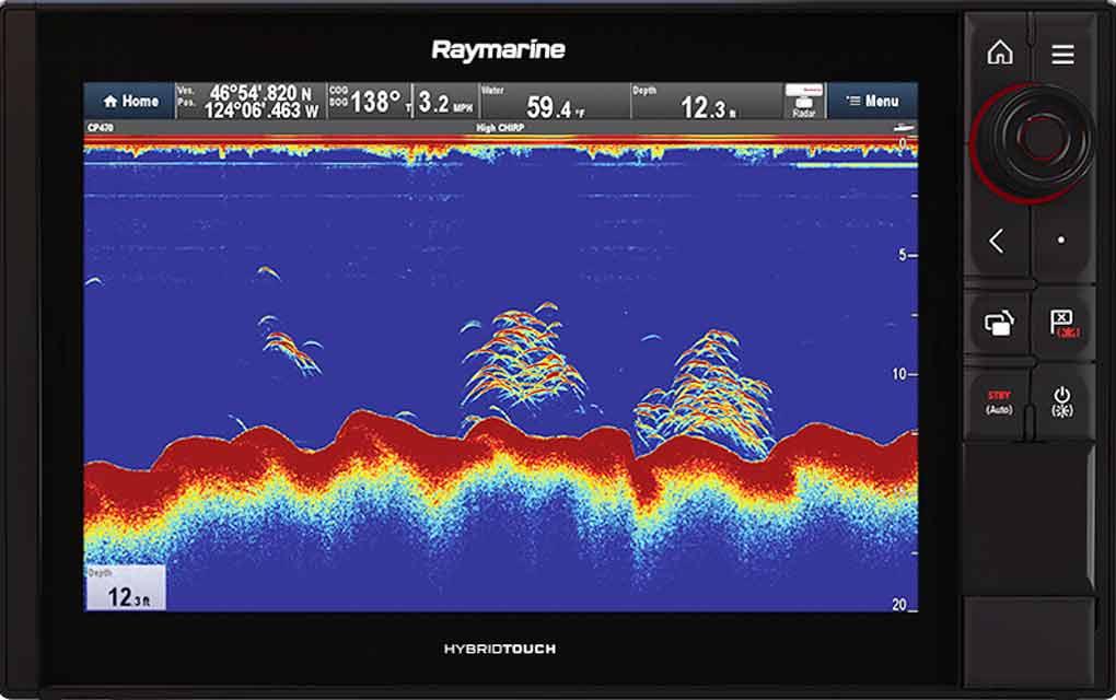 Axiom CHIRP sonar