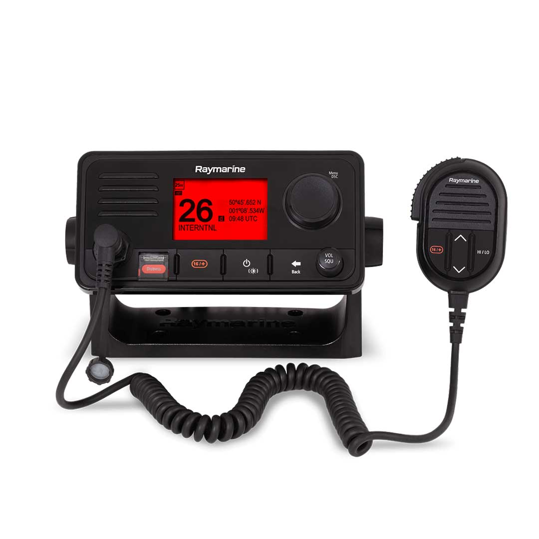 Raymarine Ray73 Dual Station VHF Radio with GPS, AIS and Loudhailer