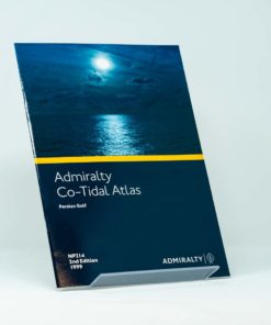 ELCOME ADMIRALTY Co-Tidal Atlas - Persian Gulf - NP214 (2nd Edition)