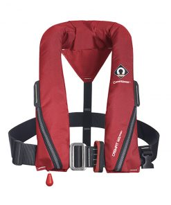 ELCOME Crewfit 165N Sport Red Auto inflatable with harness 9715RA