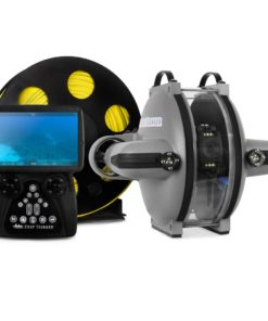 ELCOME Deep Trekker DTG3 ROV Underwater Drone with remote and tether reel