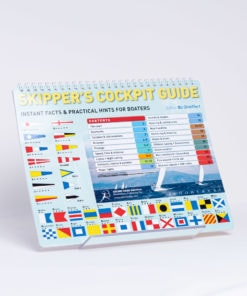 ELCOME Adlard Coles - Skippers Cockpit Guide - Instant Facts & Practical Hints For Boaters - GP446