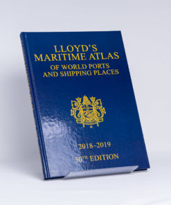 ELCOME Informa UK Ltd - Lloyd's Maritime Atlas - 30th Edition - GP129 - 30th Edition 2018-2019