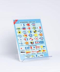 ELCOME RYA - Cockpit Card - International Code Signal Flags - GP532