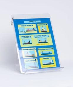 ELCOME RYA - Cockpit Card- Lights And Shapes Encapsulated - GP541