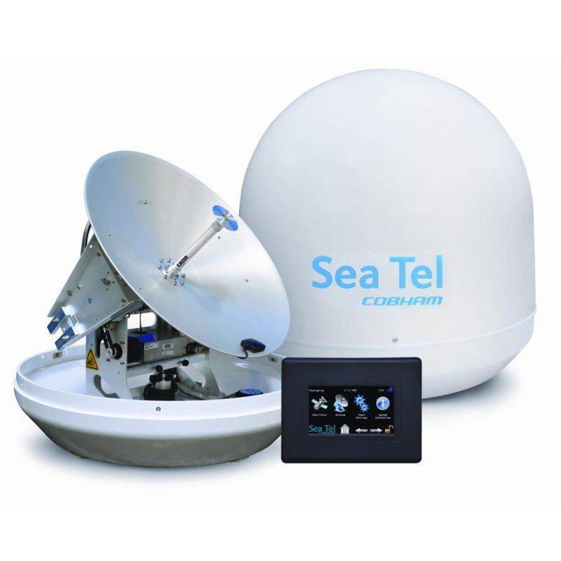 ELCOME Cobham SeaTel ST24 Antenna with GACP
