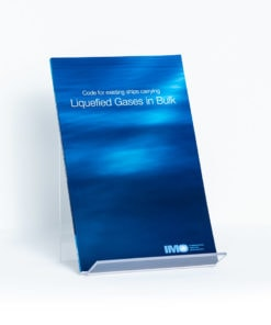 ELCOME IMO - Code for Existing Ships Carrying Liquefied Gases in Bulk - IMO788E - 1976 Edition