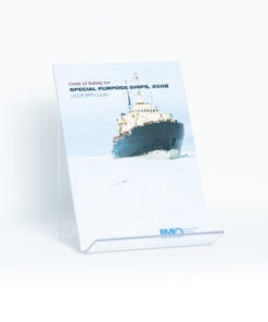ELCOME IMO - Code of Safety for Special Purpose Ships, 2008 - IMO820E - 2008 Edition