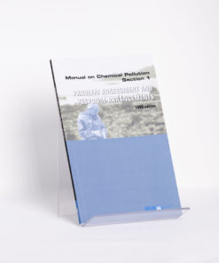 ELCOME IMO - Manual on Chemical Pollution - Section 1 - IMO630E - 1999 Edition