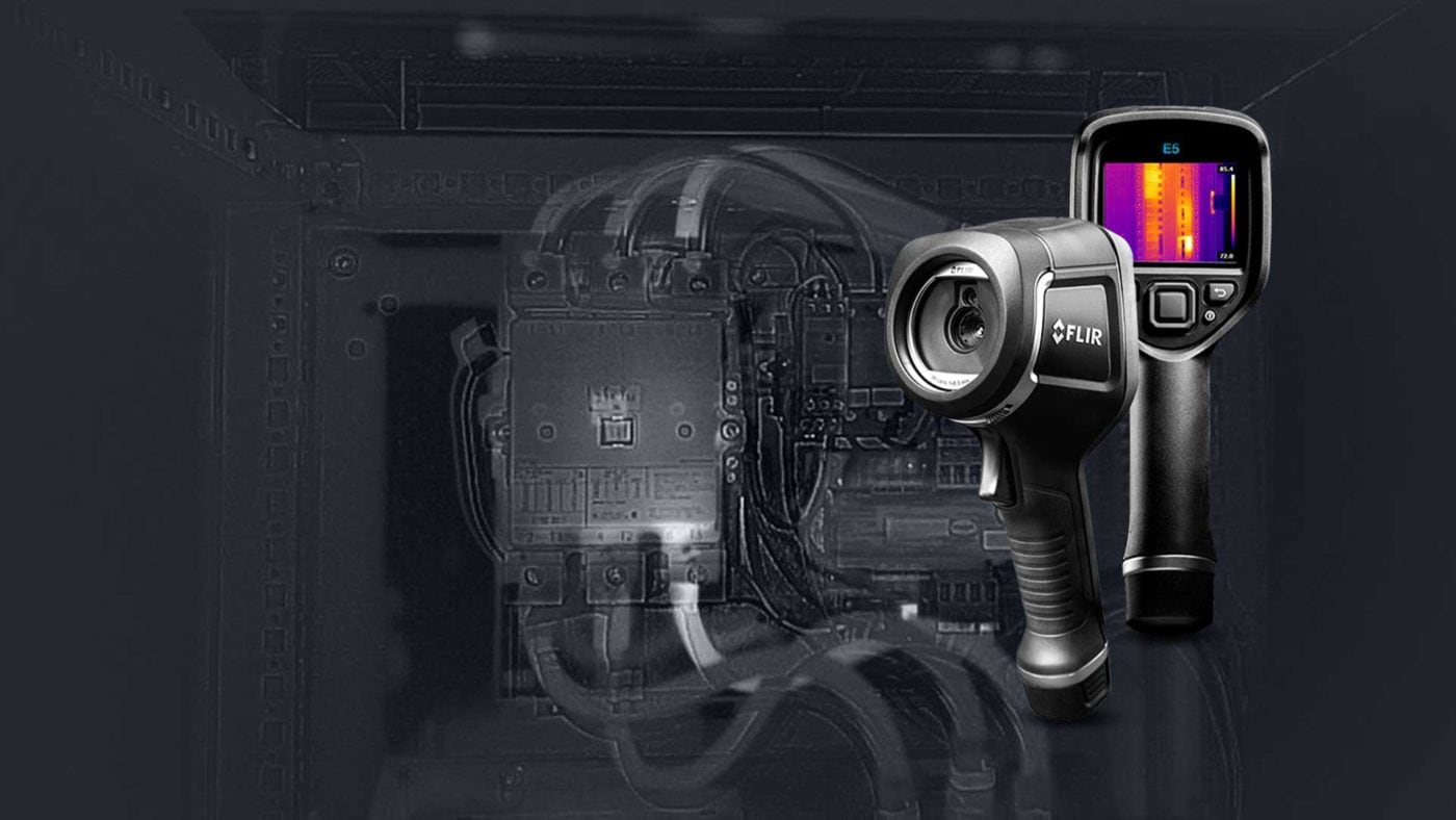 ELCOME - FLIR - E5-XT - Infrared Camera with Extended Temperature Range - Banner