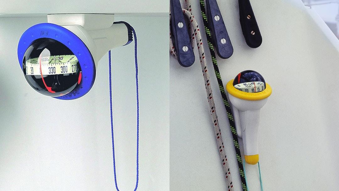 ELCOME - Plastimo - IRIS 100 Compass - Horizontal and vertical mounting