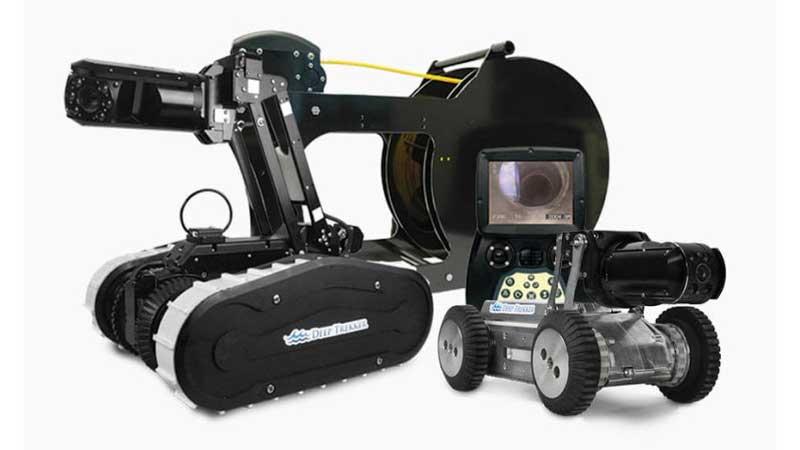 ELCOME Deep Trekker DT300 Pipe Crawler Package