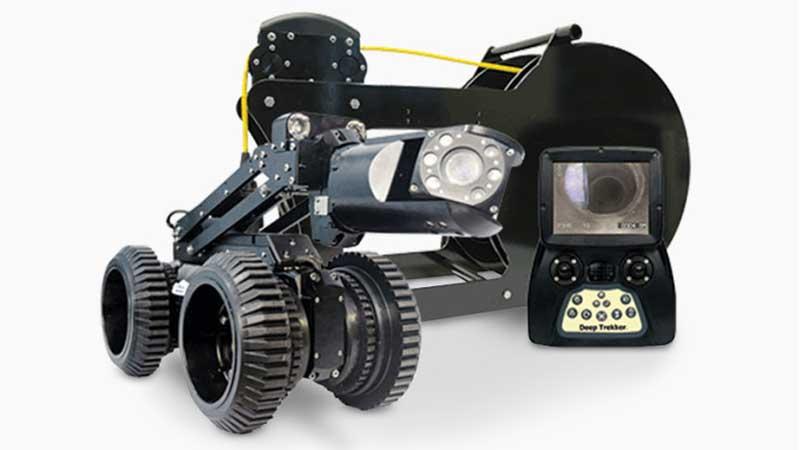 ELCOME Deep Trekker DT340S Pipe Crawler Package