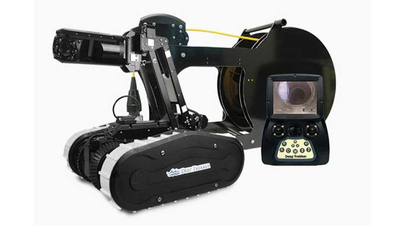 ELCOME Deep Trekker DT340X Pipe CrawlerPackage