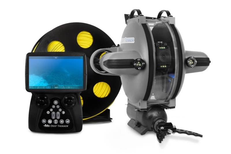 ELCOME Deep Trekker DTG3 ROV Underwater Drone Remotely Operated Vehicle Expert