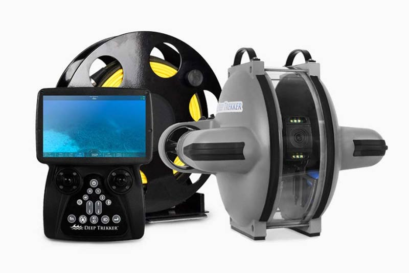 ELCOME Deep Trekker DTG3 ROV Underwater Drone Remotely Operated Vehicle Smart