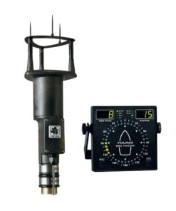 ELCOME Young 86000 Ultrasonic Anemometer with 06206 Marine Wind Tracker Display