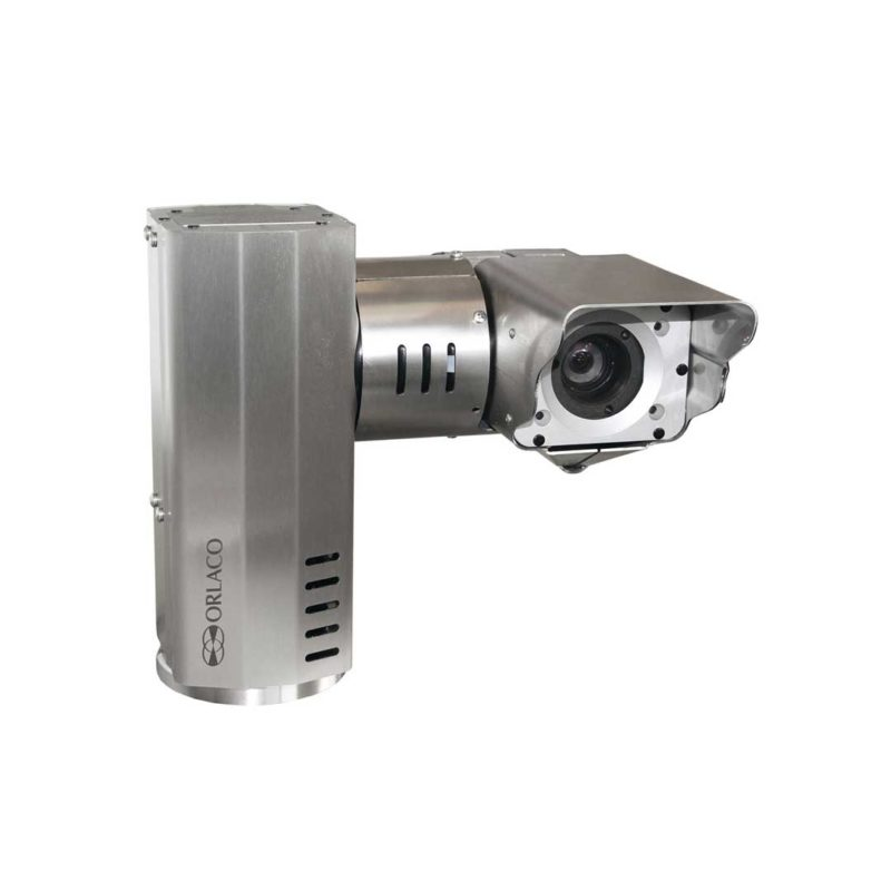 ELCOME Orlaco Explosion Proof Pan and Tilt Zoom Camera