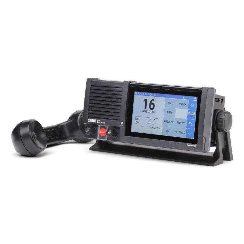 ELCOME Cobham SAILOR 7222 VHF Radio Left