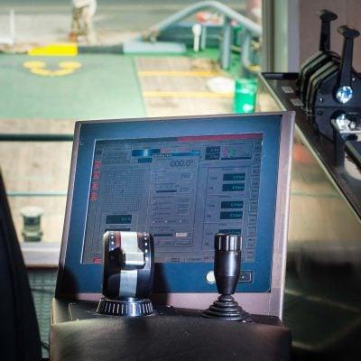 ELCOME Marine Technologies MT Dynamic Positioning System DP System Joystick DP 1 DP 2 DP 3